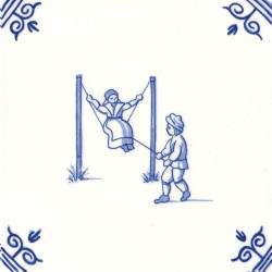 Tegels - Delfts Blauw • Souvenirs from Holland