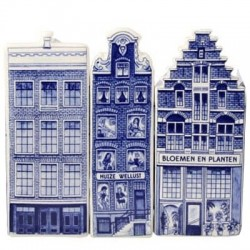 Canal Houses - Delft Blue • Souvenirs from Holland