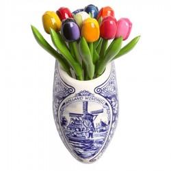 Houten Tulpen Combi
