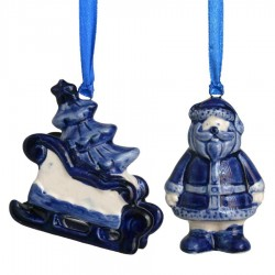 Christmas - Delft Blue • Souvenirs from Holland