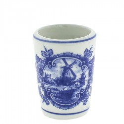 Cups, Mugs and Shooters - Delft Blue • Souvenirs from Holland