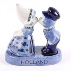 Salt and Pepper sets - Delft Blue • Souvenirs from Holland