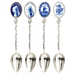 Teaspoons - Delft Blue • Souvenirs from Holland