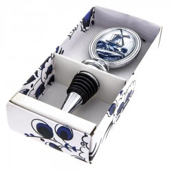 Wine Bottle Stopper - Delft Blue • Souvenirs from Holland