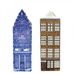 Delft Blue - Small - Canal Houses | Souvenirs From Holland