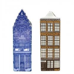 Delfts Blauw - Klein - Grachtenhuizen | Souvenirs From Holland