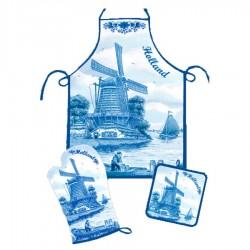 Keukentextiel - Delfts Blauw • Souvenirs from Holland