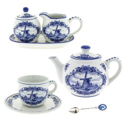 Tea sets - tableware - Souvenirs • Souvenirs from Holland