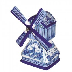 Windmills - Delft Blue • Souvenirs from Holland