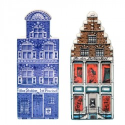 Polychrome - Large - Canal Houses | Souvenirs From Holland