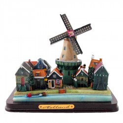 Miniature Landscape - Windmills | Souvenirs From Holland