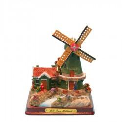 Klein Miniatuur Landschap - Miniatuur Landscape - Molens   Souvenirs From Holland