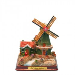 Small Miniature Landscape - Miniature Landscape - Windmills | Souvenirs From Holland