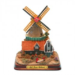 Groot Miniatuur Landschap - Miniatuur Landscape - Molens | Souvenirs From Holland