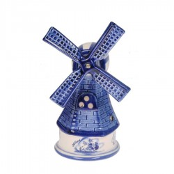 Delft Blue Ceramic - Windmills | Souvenirs From Holland