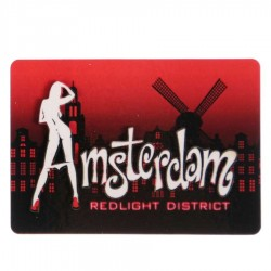 De Wallen - Red Light District - Magneten | Souvenirs From Holland