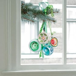 Flat Flowers - Window Decoration - X-Mas Ornaments Christmas  | Souvenirs From Holland