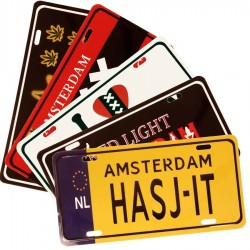 Licence Plates | Souvenirs From Holland