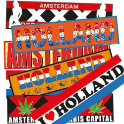 Car Bumper Stickers - Souvenirs • Souvenirs from Holland