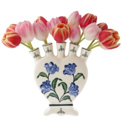 Flower Vases - Delft Blue • Souvenirs from Holland
